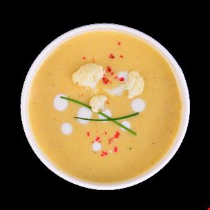 Supă cremă conopidă